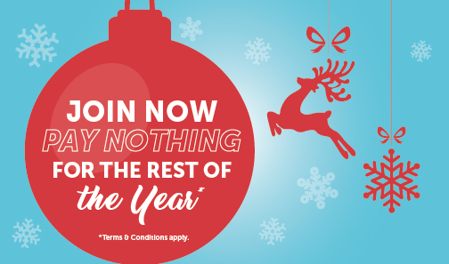 Join now pay nothing for the rest of the year